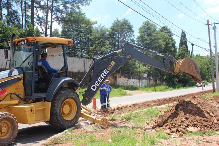 Read more about the article Acostamento da Avenida Dr. Rodrigues Alves recebe pavimentação