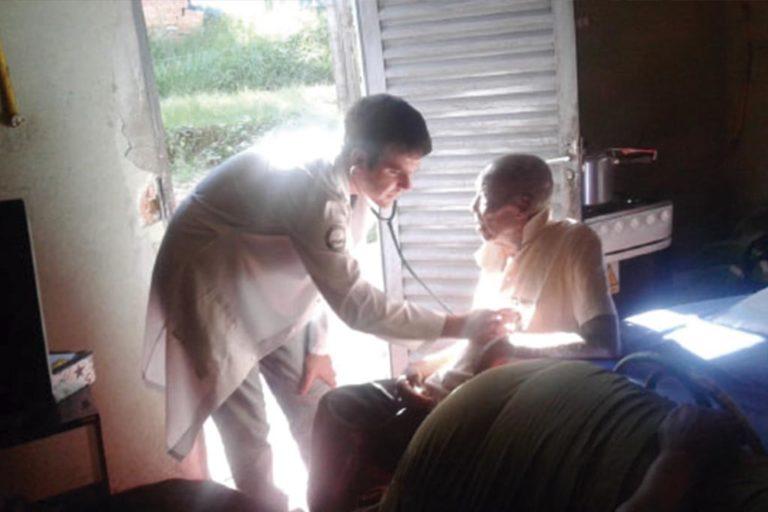 Visitas domiciliares são retomadas na Unidade de saúde do Paviotti