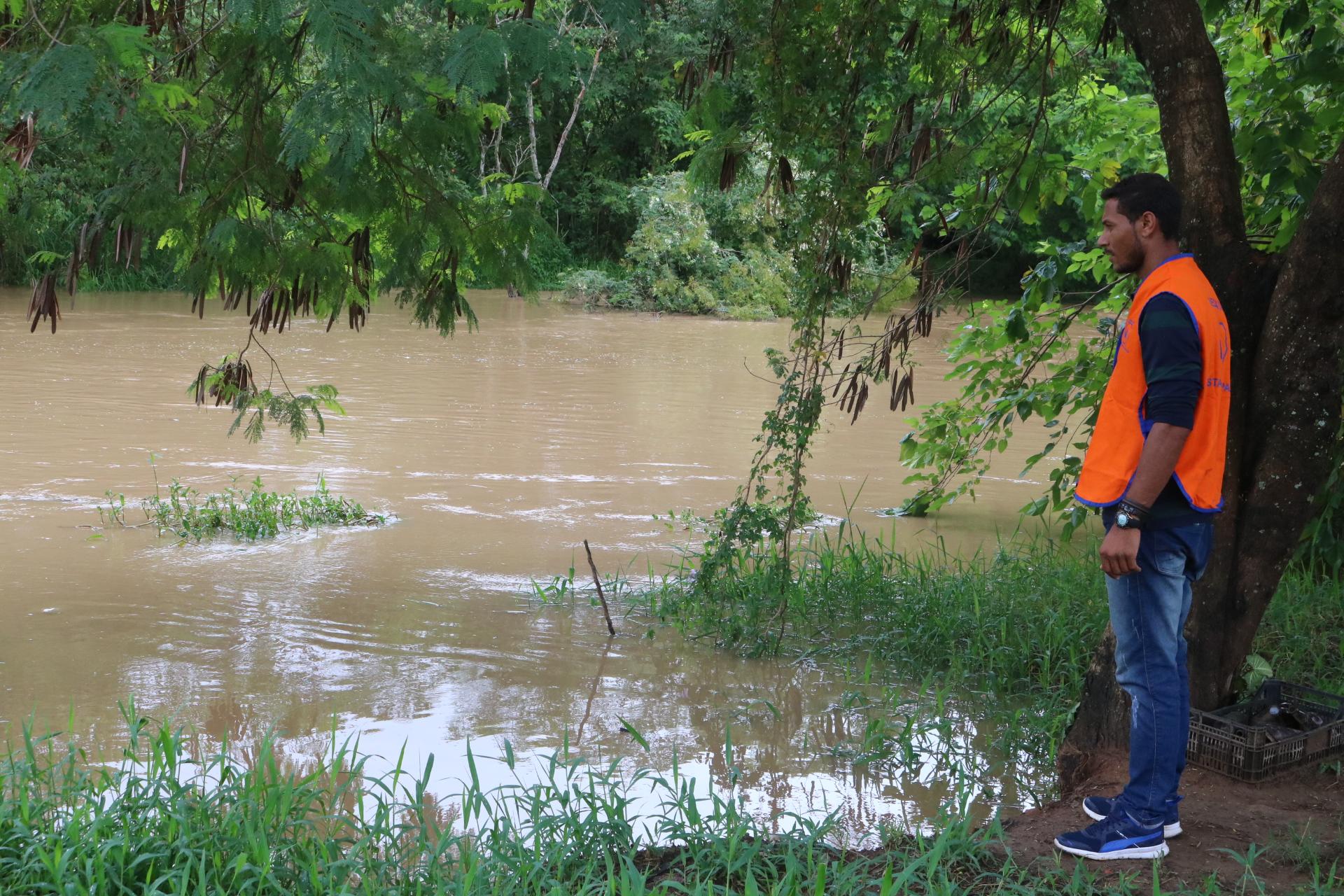 Defesa Civil de Rafard alerta para aumento no nível do rio