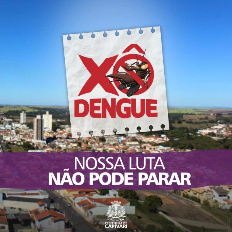 Read more about the article Capivari registra casos de dengue e faz campanha de conscientização para eliminar criadouros
