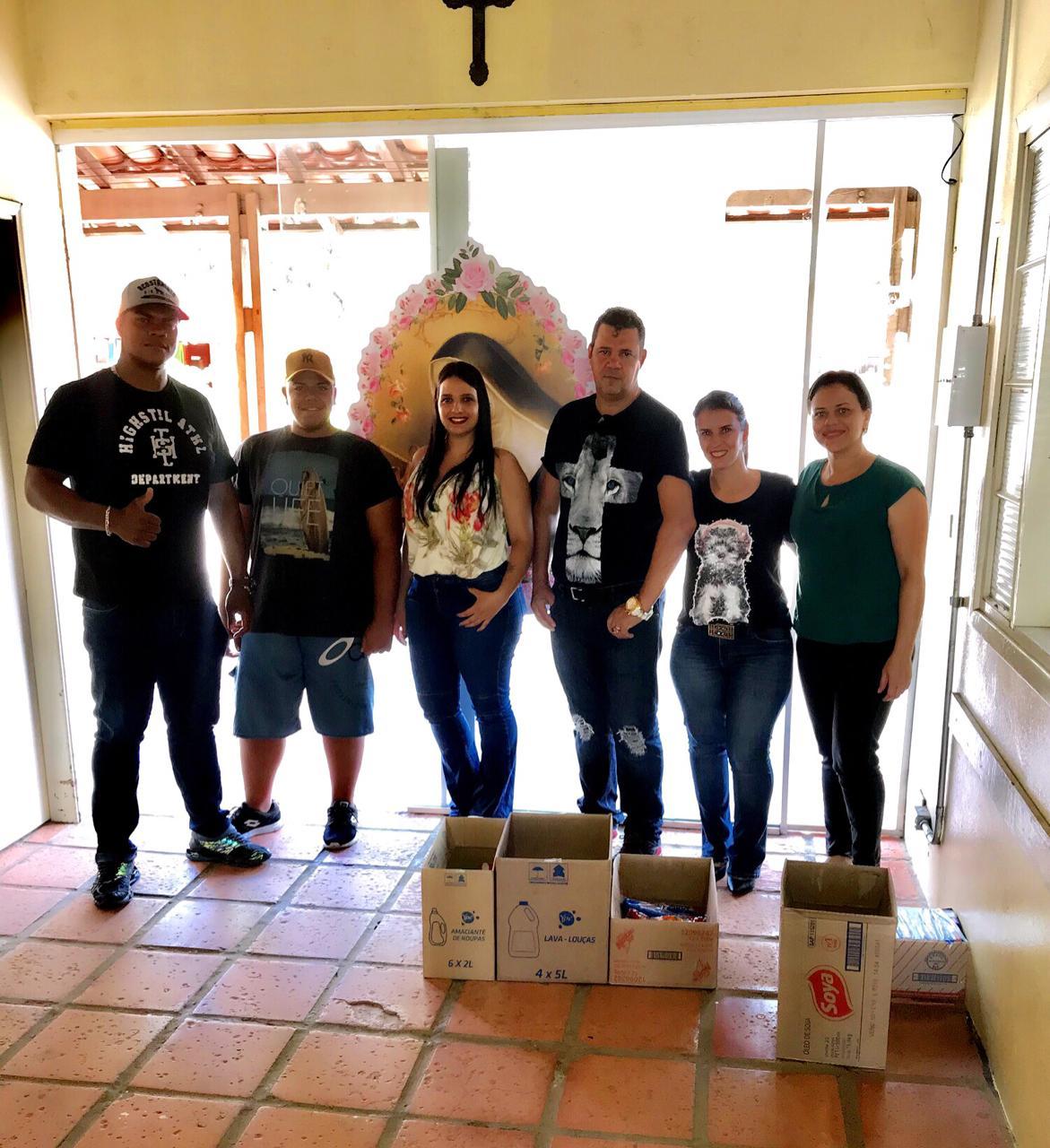 Read more about the article Imperium Music Club faz doação para Instituição Santa Rita de Cássia
