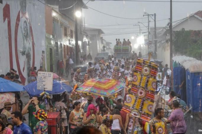 Carnaval 2019 terá chuva em todo o Estado