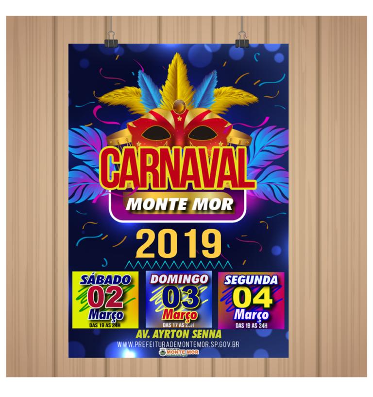 Read more about the article Vem aí o Carnaval de Monte Mor. Confira a programação!