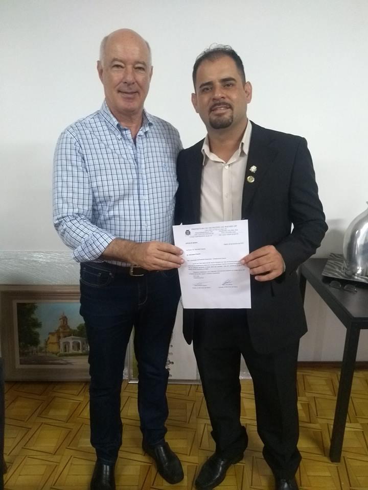Vereador Fábio Santos protocola ofício solicitando 400 mil para Rafard