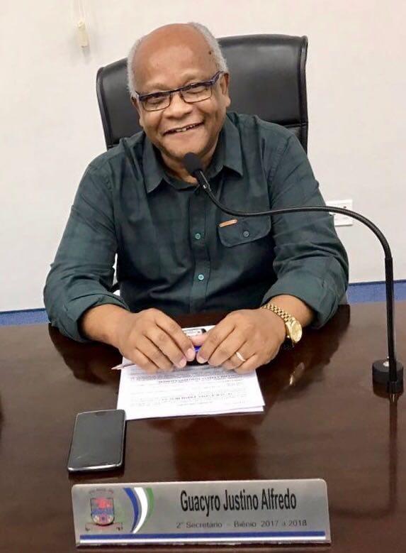 Vereador Guacyro protocola ofício para colocação de redutor de velocidade e revitalização de faixas de pedestres próximo a locais públicos