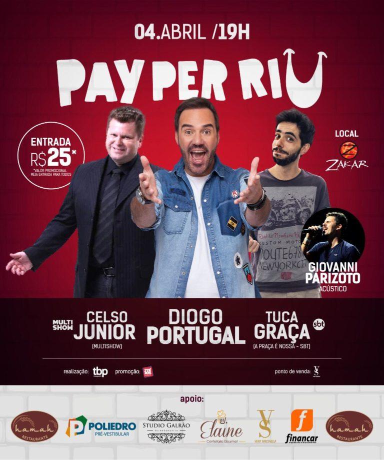 Read more about the article Pay Per Riu tem mudança de artista principal