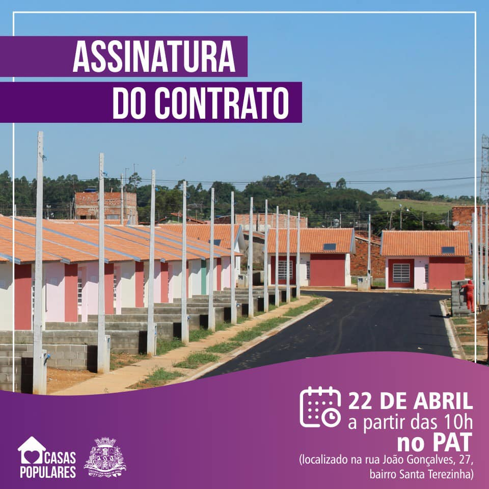 You are currently viewing Entrega das casas populares pela CDHU acontece amanhã