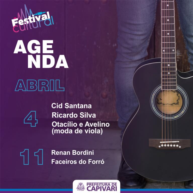 Read more about the article Festival Cultural traz apresentações sertanejas no mês de abril