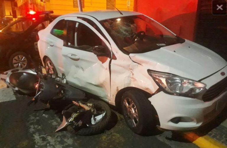 Read more about the article Acidente envolvendo moto e carro deixa pai e filho feridos em Capivari
