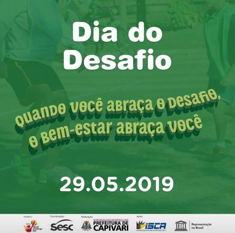You are currently viewing Capivari participa da 25ª edição do Dia do Desafio