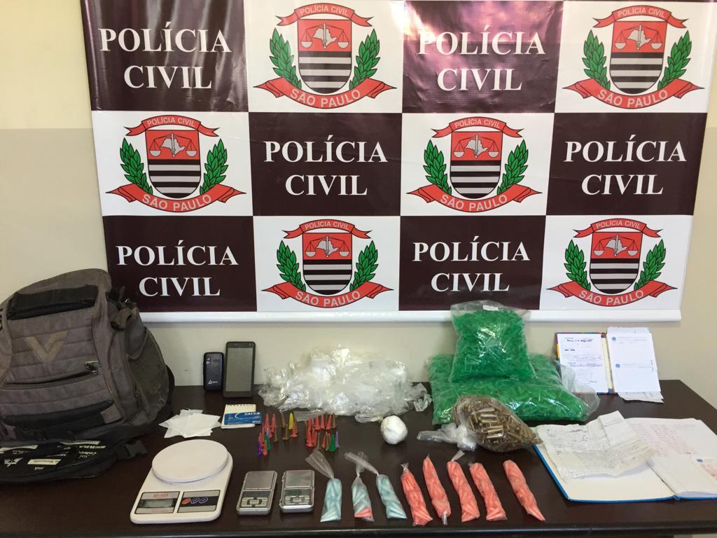 Read more about the article Operação contra o tráfico prende três pessoas no bairro São João