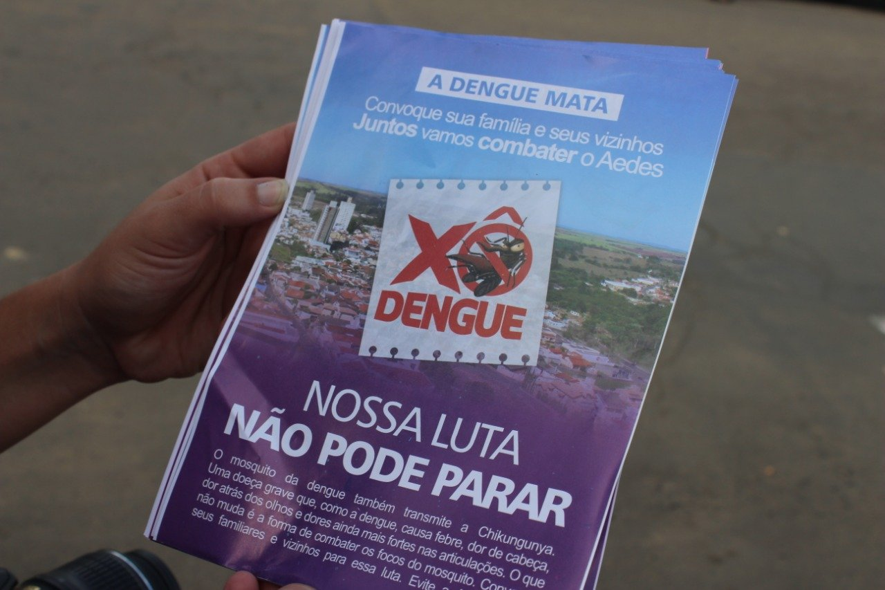 You are currently viewing Campanha contra a dengue continua em Capivari