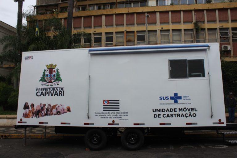 Castramóvel foi inaugurado no último sábado em Capivari