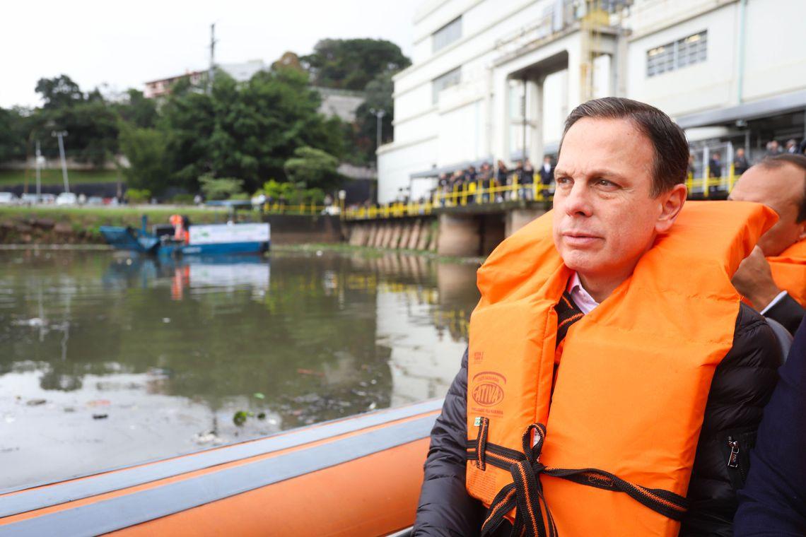 You are currently viewing Doria promete despoluir Rio Pinheiros até 2022