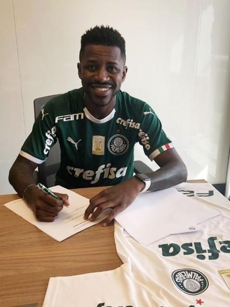 Read more about the article Palmeiras anuncia a contratação do volante Ramires