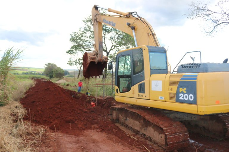 Read more about the article Prefeitura de Rafard dá início à construção da rede de esgoto no Distrito Industrial