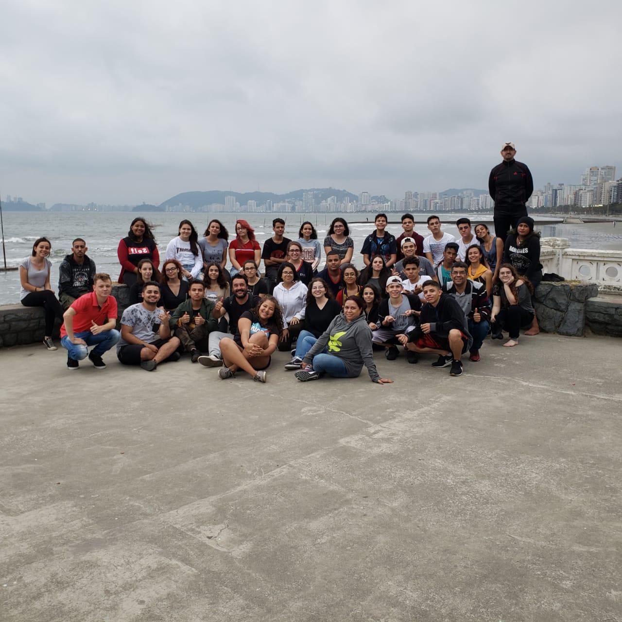 Read more about the article Alunos da ETEC visitam a cidade de Santos