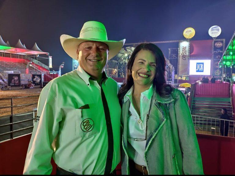 Deputada Valéria Bolsonaro participa da abertura da 27ª FEPEC