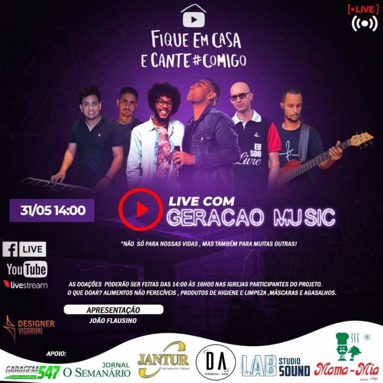 Read more about the article Live com Geração Music